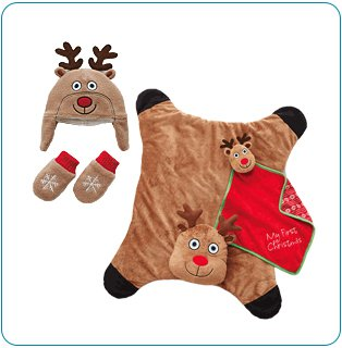 Tiny Tillia Reindeer Holiday Bundle (0-12 months)