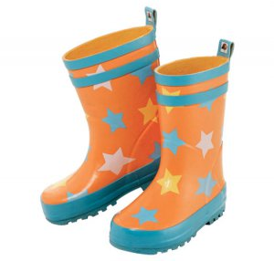 Size 10: Tiny Tillia Star Toddler Rain Boot Rubber Boots