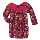 4T: Tiny Tillia Floral Paisley Corduroy Dress - Avon