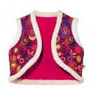 12 Months: Tiny Tillia Reversible Vest - Avon