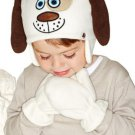 12M-2T: Duncan Dog Tiny Tillia Animal Hat & Mitten Set - Avon