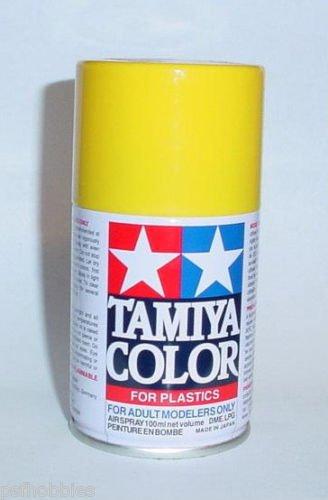 Tamiya TS-47 Chrome Yellow 3oz Spray Can Plastic Model Paint Cars Aircraft Tank