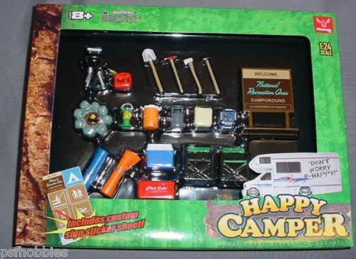 1/24 1/25 Camping Diorama Model Diecast Cars G Gauge Train layouts Garage