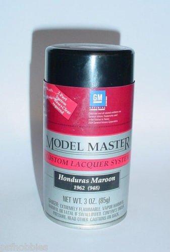 Testors Model Master Honduras Maroon Lacquer 3oz Spray Can Model Car Paint