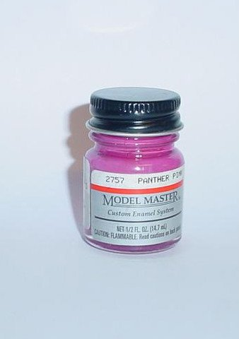 Testors Model Master 1/2 oz Panther Pink Mopar Plastic Model Car Paint