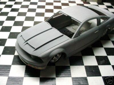 1/25 Resin Formula  Hood For Revell 2006 Mustang GT