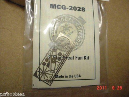 "Model Car Garage 12"" Electric fan Kit Photo Etched Kit 1/24 1/25 For Model Cars"