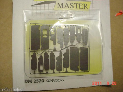 Detail Master Sunvisors Photo Etched Model & Diecast Cars 1/25 1/24