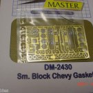 1/25 1/24 Detail Master Chevy 350 Brass Gaskets Photo Etched Model Car Parts