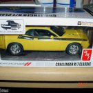 1/25 AMT 2010 Dodge Challenger SRT8 Dealer Promo Yellow Promotional Model Car