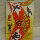 1978 Spider Man Hang Glider Figure Flying Toy Marvel Comic Book Action
