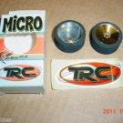 TRC Trinity Micro 1/18 Mount & Tru 17mm Magenta Wheels & Foam Rear Tires
