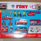 Daron FDNY New York Fire Department Diecast Truck Playset Rescue Me 1/64 Fireman