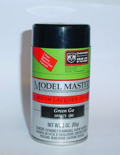 Testors Model Master Green Go Mopar Dodge  Lacquer 3oz Spray Can Model Car Paint