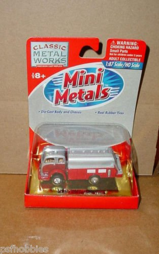Classic Metal Works Mini Metals 1953 White 3000 Fuel Delivery Truck HO 1/87 Slvr
