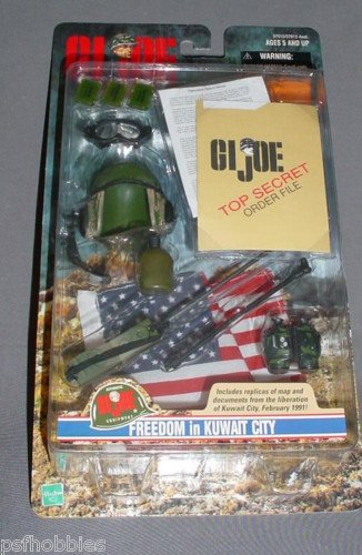 GI Joe Freedom In Kuwait City Accessorie Set Radio Man