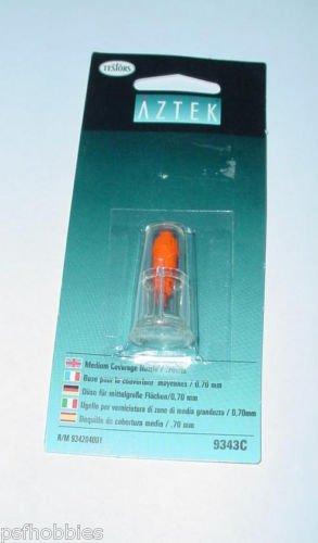 Testors Aztek Airbrush Medium Detail Nozzle Spray Tip .70MM Mint In Package