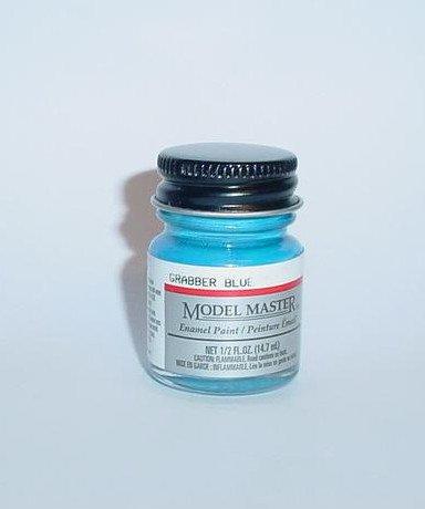 Testors Model Master 1/2 oz Grabber Blue Mustang Plastic Model Car Paint