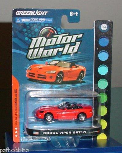 Greenlight Speed Series Motor World Dodge Viper SRT10 Diecast Toy Car 1/64