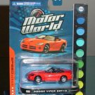 Greenlight Speed Series Motor World Dodge Viper SRT10 Diecast Toy Car 1/64