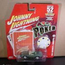 Johnny Lightning JL Poker Series 1996 Corvette Convertible Diecast Toy Car 1/64