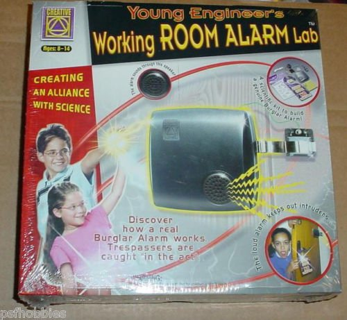Creative Young Engineer's Working Room Alarm Lab Science Kit Burglar School