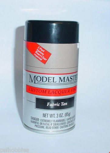 Testors Model Master Fabric Tan 3oz Spray Can Model Car Paint