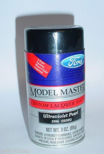 Testors Model Master Ultraviolet Pearl  Lacquer 3oz Spray Can Model Car Paint