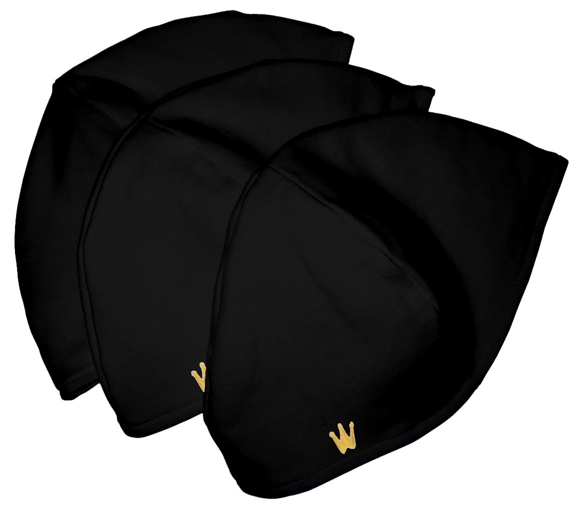 CrownWear Ultra thin Protection Black 3pack