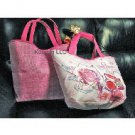 Lancome Reversible Pink Tote NEW Super Cute! (Quantity of 1)