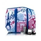 Lancome Travel Set Summer in Paris Makeup Tote #3 6 Piece Set