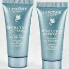 Lancome Resolution D-contraxol Intensive Anti-wrinkle Treatment (2) 0.5oz Tubes = 1oz Unboxed