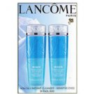 LANCOME BI-FACIL DUO NON OILY INSTANT CLEANSER SENSITIVE EYES 125ML 4.2OZ EACH x 2