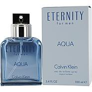Calvin Klein ETERNITY AQUA; EDT SPRAY 3.4 OZ