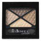Rimmel Glam Eyes Quad Eye Shadow - 002 Smokey Brun