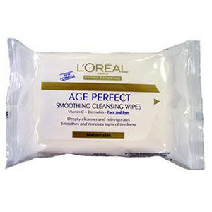 L'Oreal Dermo Expertise Age Perfect Smoothing Wipes - 25 wipes