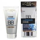 L'Oreal Luminize Code BB Cream Illuminating Skin Perfector SPF15 - Fair 50ml