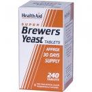 HealthAid Super Brewers Yeast Tablets 240 tabs