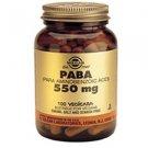 Solgar PABA 550 mg Vegetable Capsules 100 vegicaps