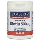 Lamberts Biotin 500µg 90 Caps