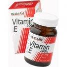 HealthAid Vitamin E 200iu Natural Vegicaps 100 capsules