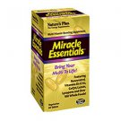 Natures Plus Miracle Essentials Tablets - Multi-Vitamin Boosting Supplement 60 Tablets