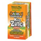 Natures Plus Animal Parade KidZinc Lozenges with Whole Food Concentrates 90 Tabs