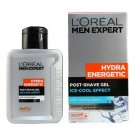 L'Oreal Men Expert Hydra Energetic Post-Shave Gel Ice-Cool Effect 100ml