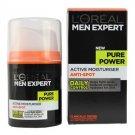 L'Oreal Men Expert Pure Power Active Moisturiser Anti-Spot 50ml