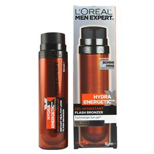 L'Oreal Men Expert Hydra Energetic Flash Bronzer Moisturising Gel 50ml