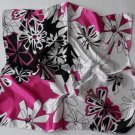 Gift 20&quot; Immitate Silk Neck Head Scarf Wrap Floral