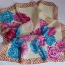 "Gift 24"" Chiffon Silk Neck Head Scarf Wrap Floral"