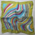 "Gift 20"" Chiffon Square Neck head Scarf Wrap Stripes"