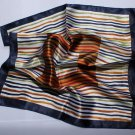 "Gift 20"" Neck Head Scarf Wrap Stripes"